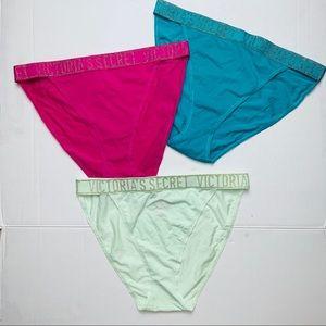 NWT Victoria's Secret set of 3 underwear